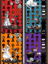 Дизайн витрин Алисы в стране чудес